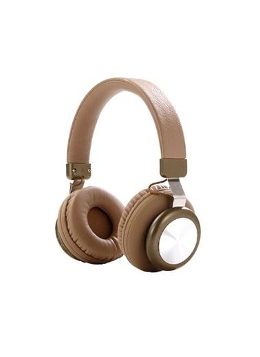 Bludfire Nettech Sy-Bt1616 Oyuncu Stereo Bluetooth Kulaküstü Kulaklık (Kahverengi) Nt-81071 Kahve